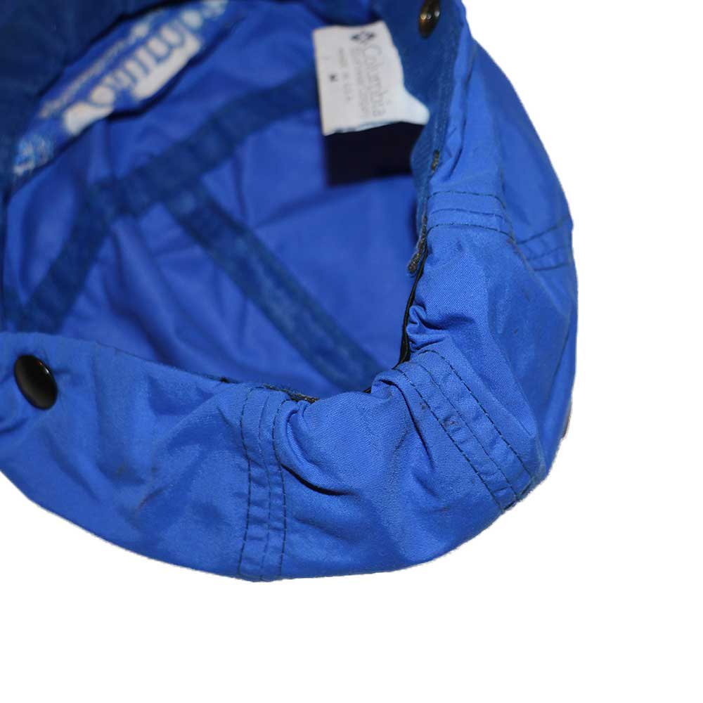 w-means(ダブルミーンズ) Columbia ナイロンキャップ (Made in U.S.A.)表記(Mens)M  ROYAL BLUE 詳細画像3