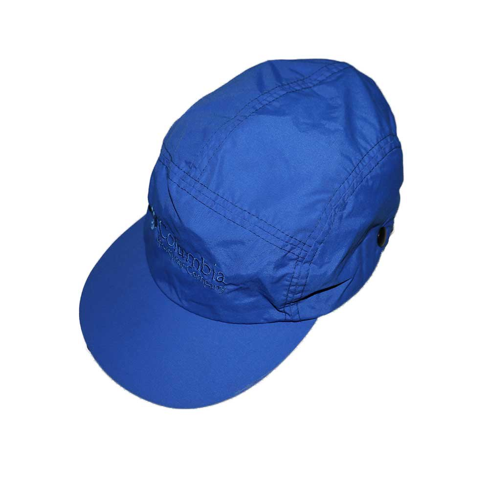 w-means(ダブルミーンズ) Columbia ナイロンキャップ (Made in U.S.A.)表記(Mens)M  ROYAL BLUE 詳細画像4