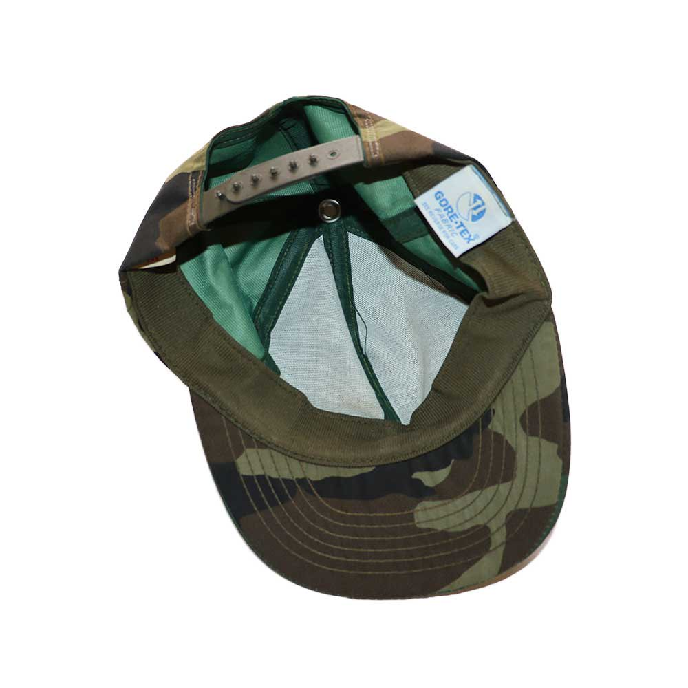 w-means(ダブルミーンズ) GORE-TEX CAP  (Made in U.S.A.)表記S/M  Woodland  詳細画像3