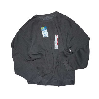 FRUIT OF THE LOOM SWEATSHIRT(FEEL THE SOFTNESS)表記L  charcoalgrey