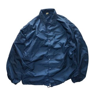 60's RUSSELL  ナイロンコーチジャケット(Made in U.S.A.)表記S  Dark Navy
