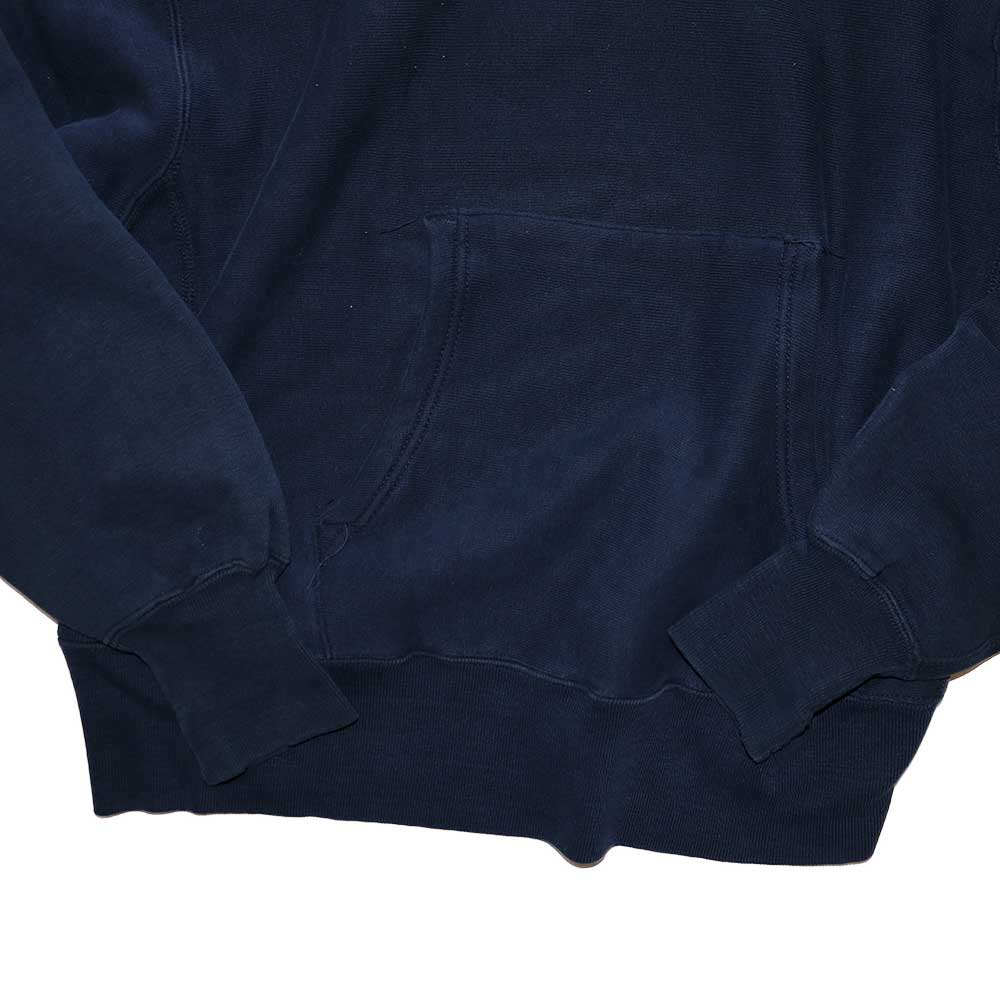 w-means(ダブルミーンズ) Champion REVERSE WEAVE WARMUP Hood Sweat(Made in U.S.A.)表記M - D.Navy 詳細画像3