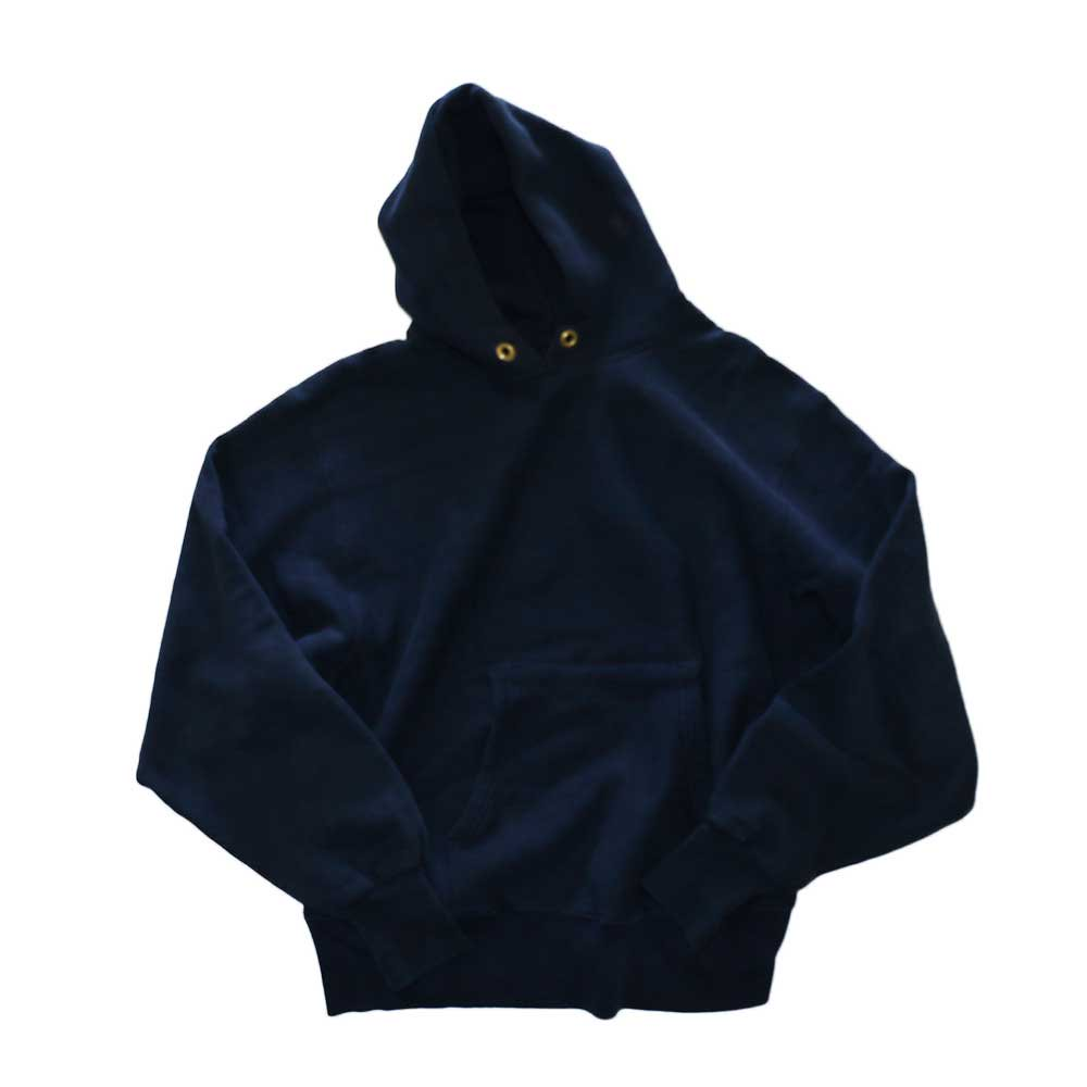 w-means(ダブルミーンズ) Champion REVERSE WEAVE WARMUP Hood Sweat(Made in U.S.A.)表記M - D.Navy 詳細画像5