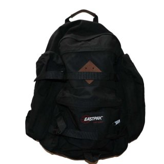 EASTPAK  ナイロンバックパック(Made in U.S.A.)45cm 32.5cm 17.5cmBlack