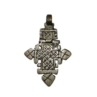 Ethiopia cross (Made in Ethiopia )one size  Silver