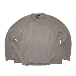 Ralph Lauren 100% Cotton Knit Sweater 表記xL  Sand