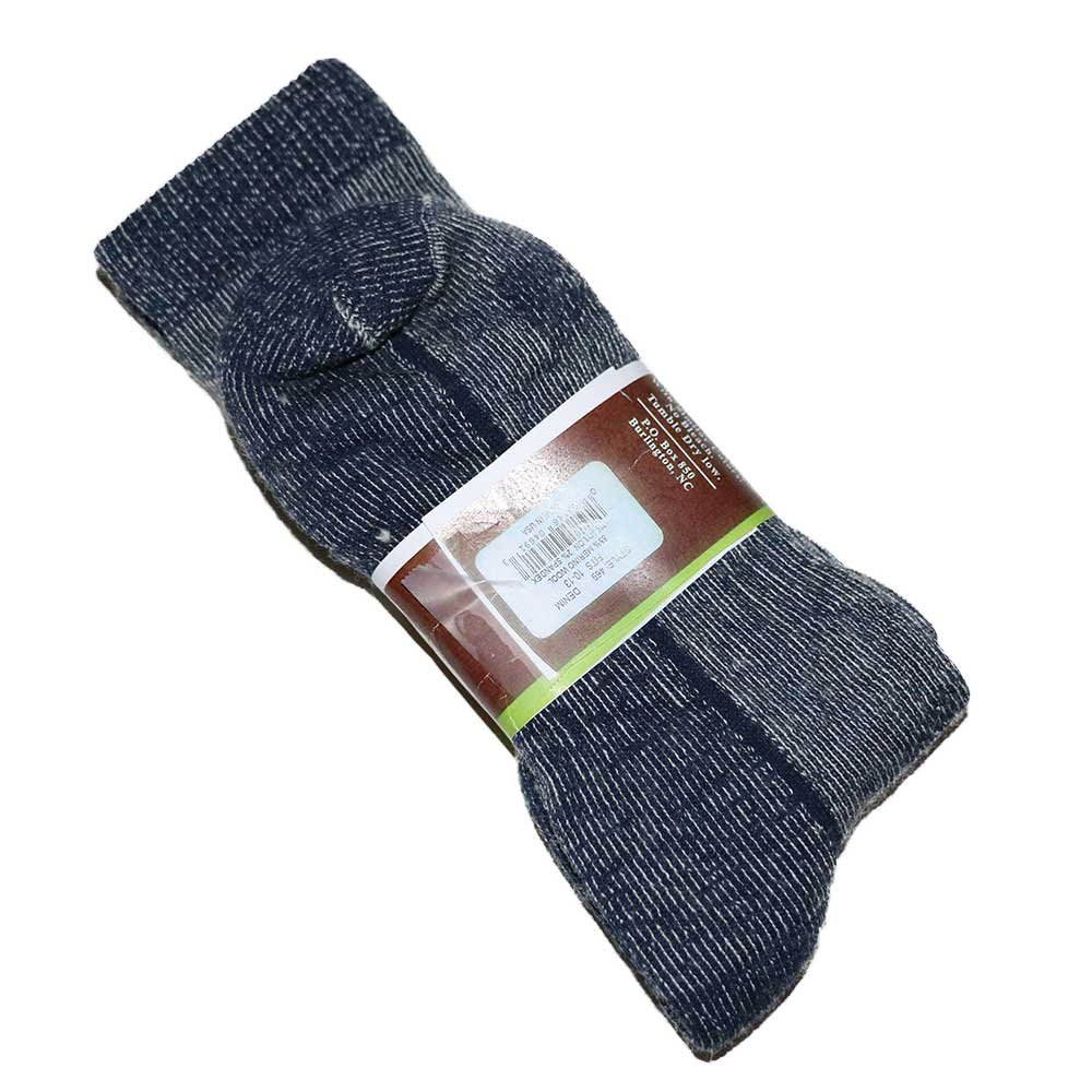 w-means(ダブルミーンズ) Wise blend wool socks(Made in U.S.A.)表記9-13  Gray 詳細画像2
