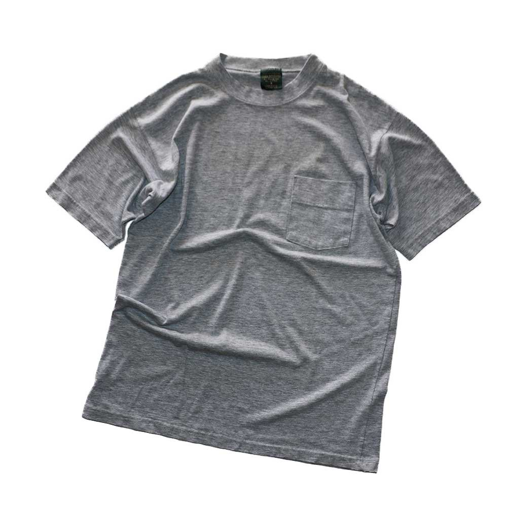 w-means(ダブルミーンズ) NEIL MARTIN 50/50 半袖ポケットTシャツ  表記S(Made in U.S.A.)Gray 詳細画像1
