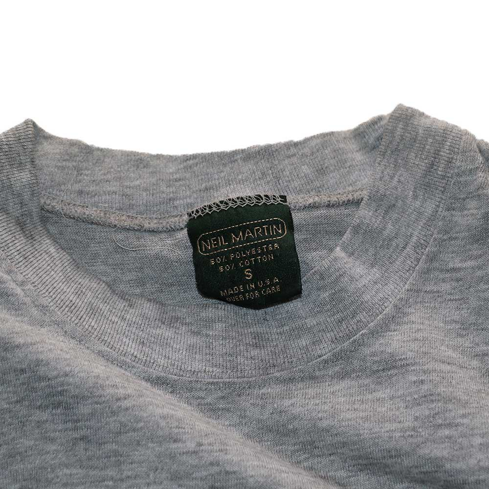 w-means(ダブルミーンズ) NEIL MARTIN 50/50 半袖ポケットTシャツ  表記S(Made in U.S.A.)Gray 詳細画像2