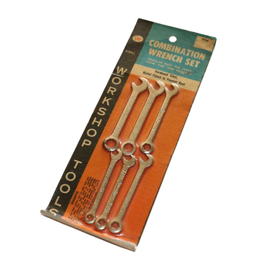 w-means(ダブルミーンズ) OT COMBINATION WRENCH SET(Made in U.S.A.)25cm×8.9cm  Silver 詳細画像