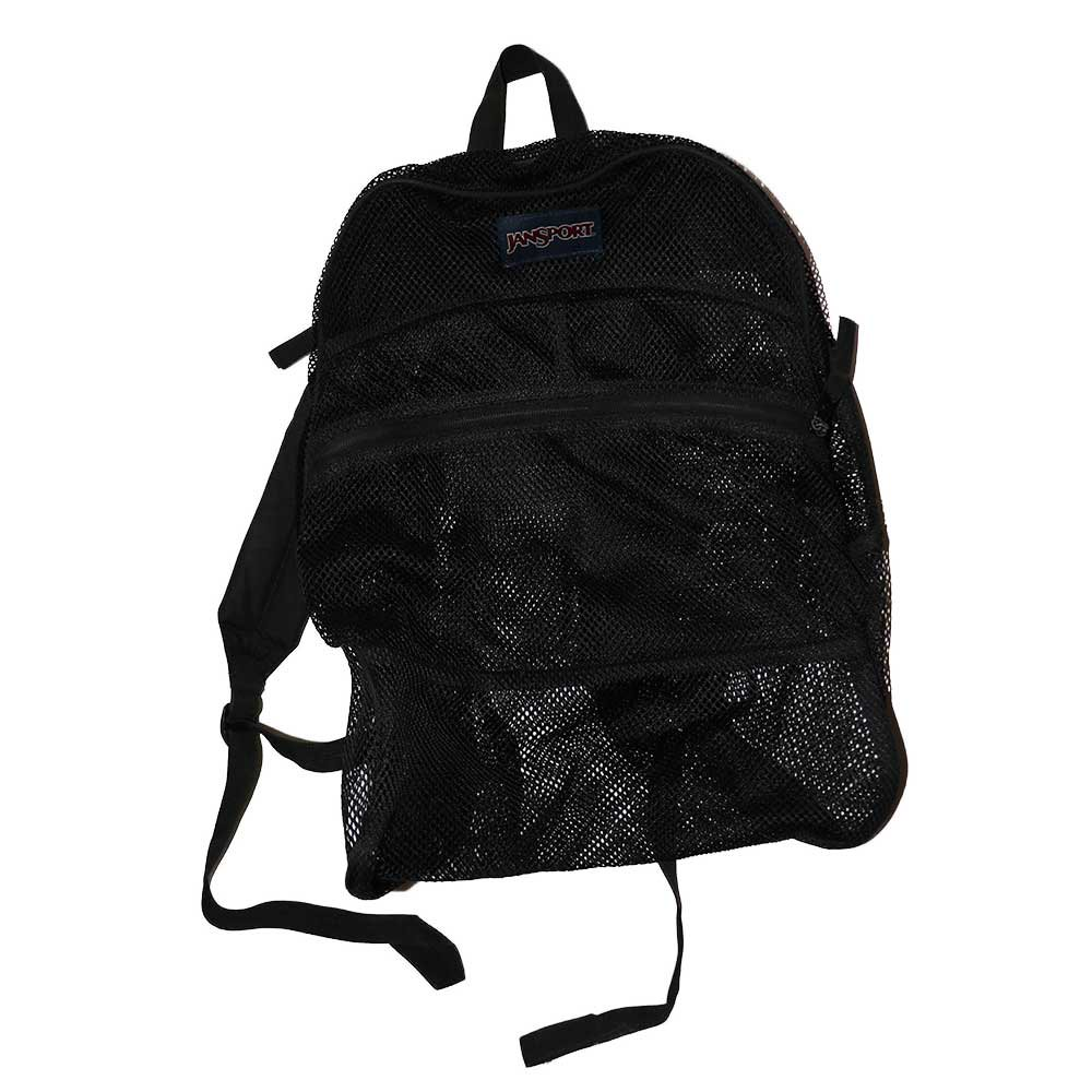 w-means(ダブルミーンズ) JANSPORT  メッシュバック one size  黒 詳細画像