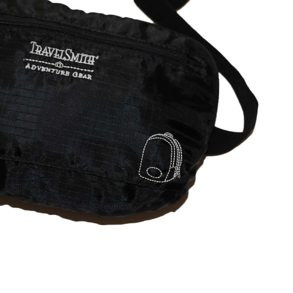 w-means(ダブルミーンズ) TRAVELSMITH ADVENTURB GEAR ナイロン2WAY BAG  one size  黒 詳細画像1