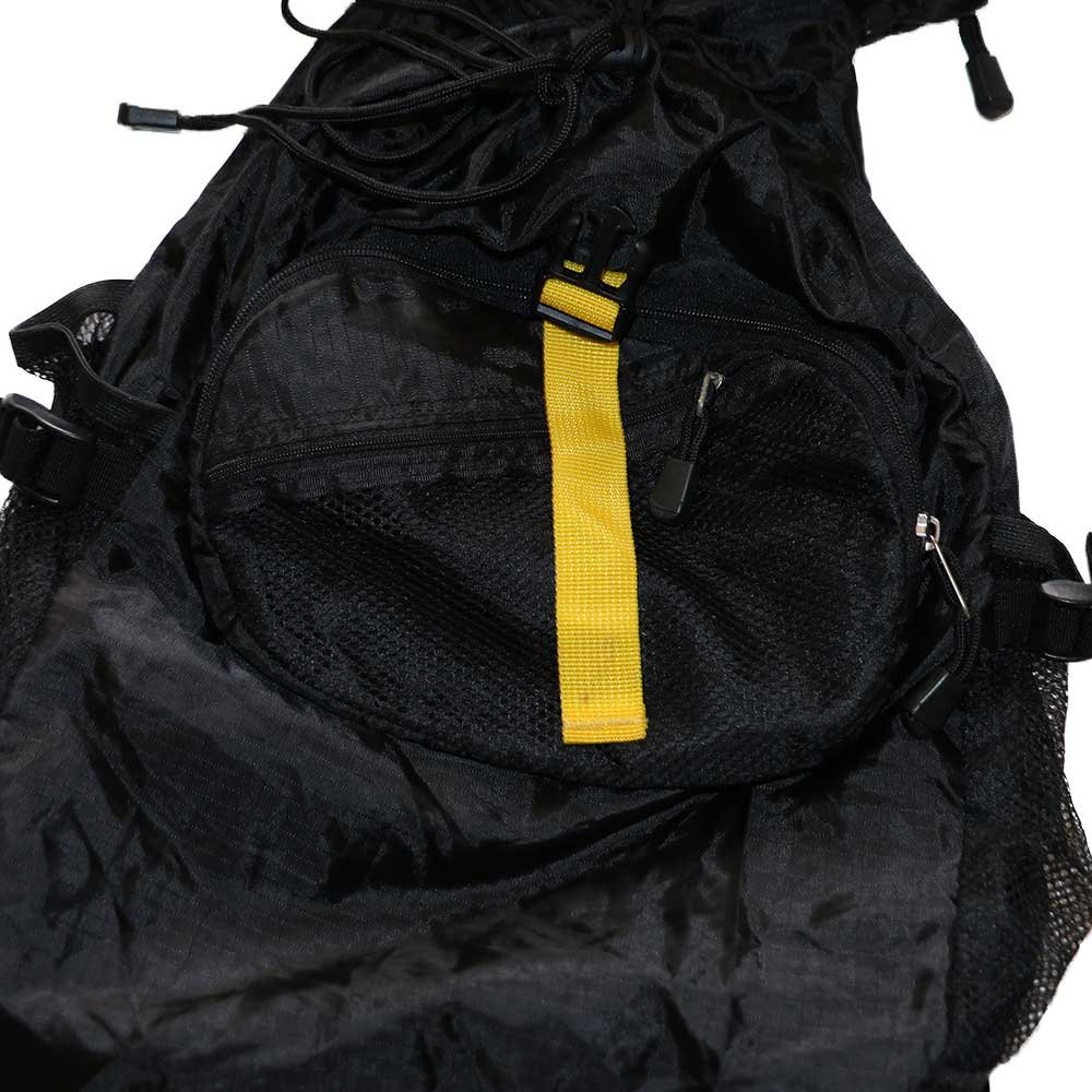 w-means(ダブルミーンズ) TRAVELSMITH ADVENTURB GEAR ナイロン2WAY BAG  one size  黒 詳細画像8