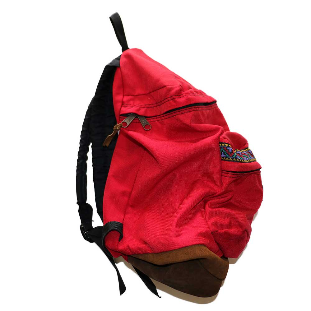 w-means(ダブルミーンズ) JANSPORT ナイロンバックパック(Made in U.S.A.)表記なし  Native Red 詳細画像