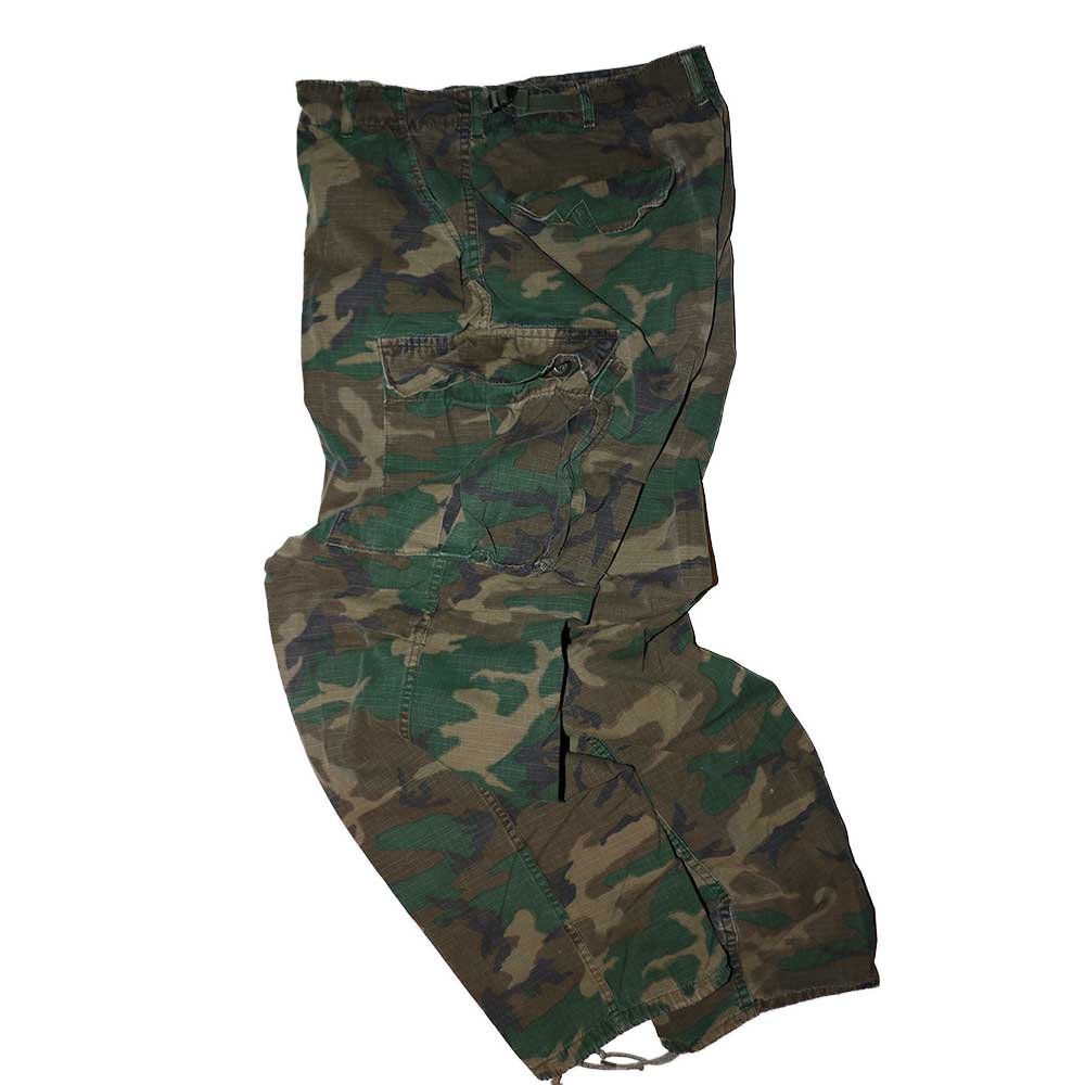 w-means(ダブルミーンズ) 60's US Military Rip-Stop Jungle Fatigue Pants  表記なし  Woodland Camo 詳細画像