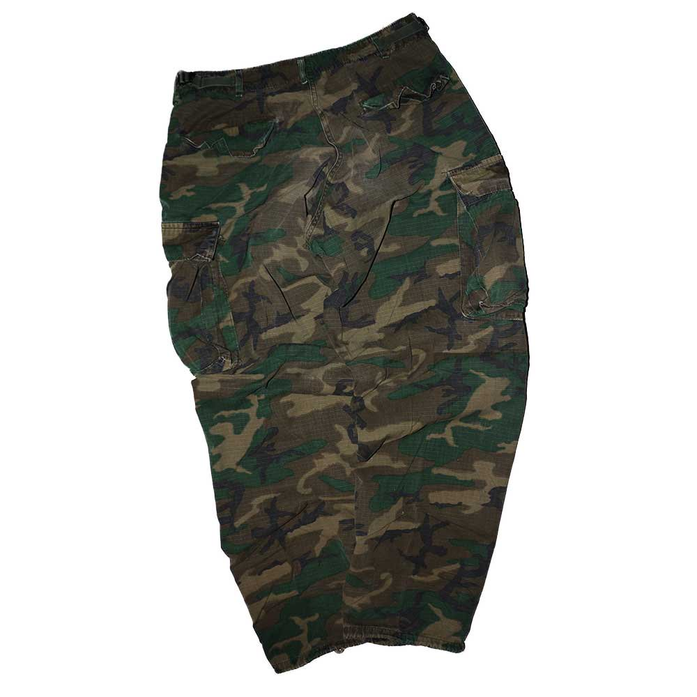 w-means(ダブルミーンズ) 60's US Military Rip-Stop Jungle Fatigue Pants  表記なし  Woodland Camo 詳細画像2