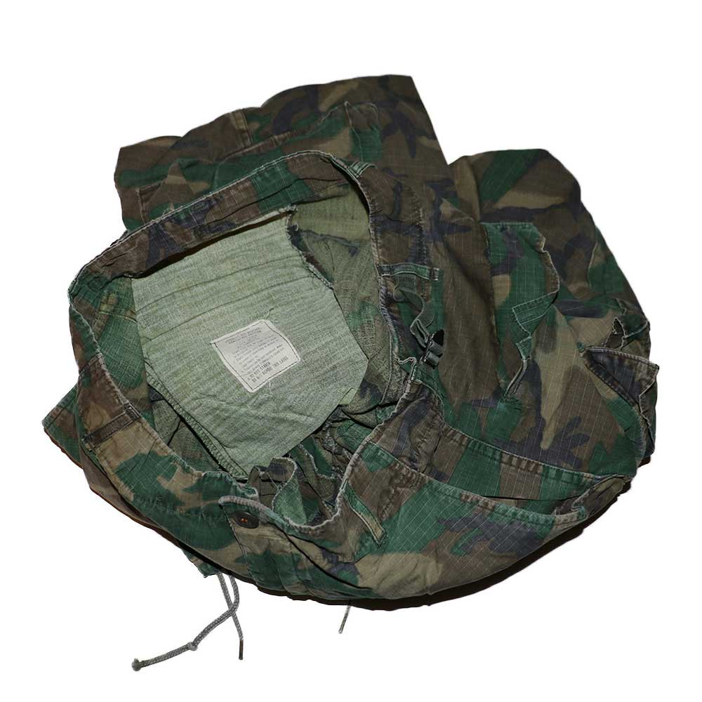 w-means(ダブルミーンズ) 60's US Military Rip-Stop Jungle Fatigue Pants  表記なし  Woodland Camo 詳細画像3