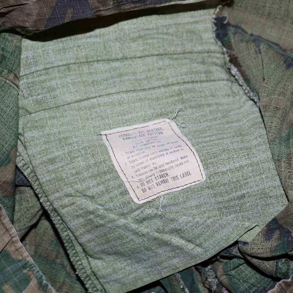 w-means(ダブルミーンズ) 60's US Military Rip-Stop Jungle Fatigue Pants  表記なし  Woodland Camo 詳細画像4
