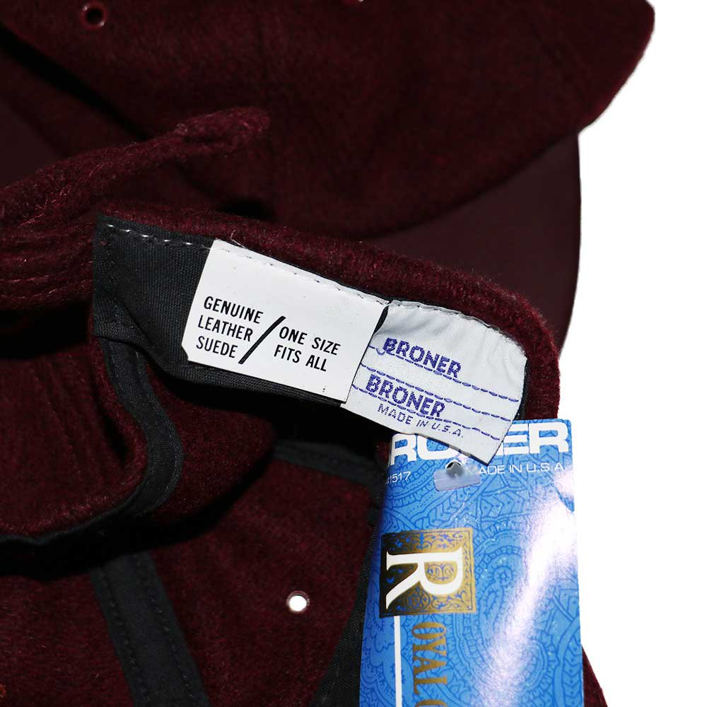 w-means(ダブルミーンズ) BRONER WOOL CAP (Made in U.S.A.)one size fits all  Burgundy 詳細画像3