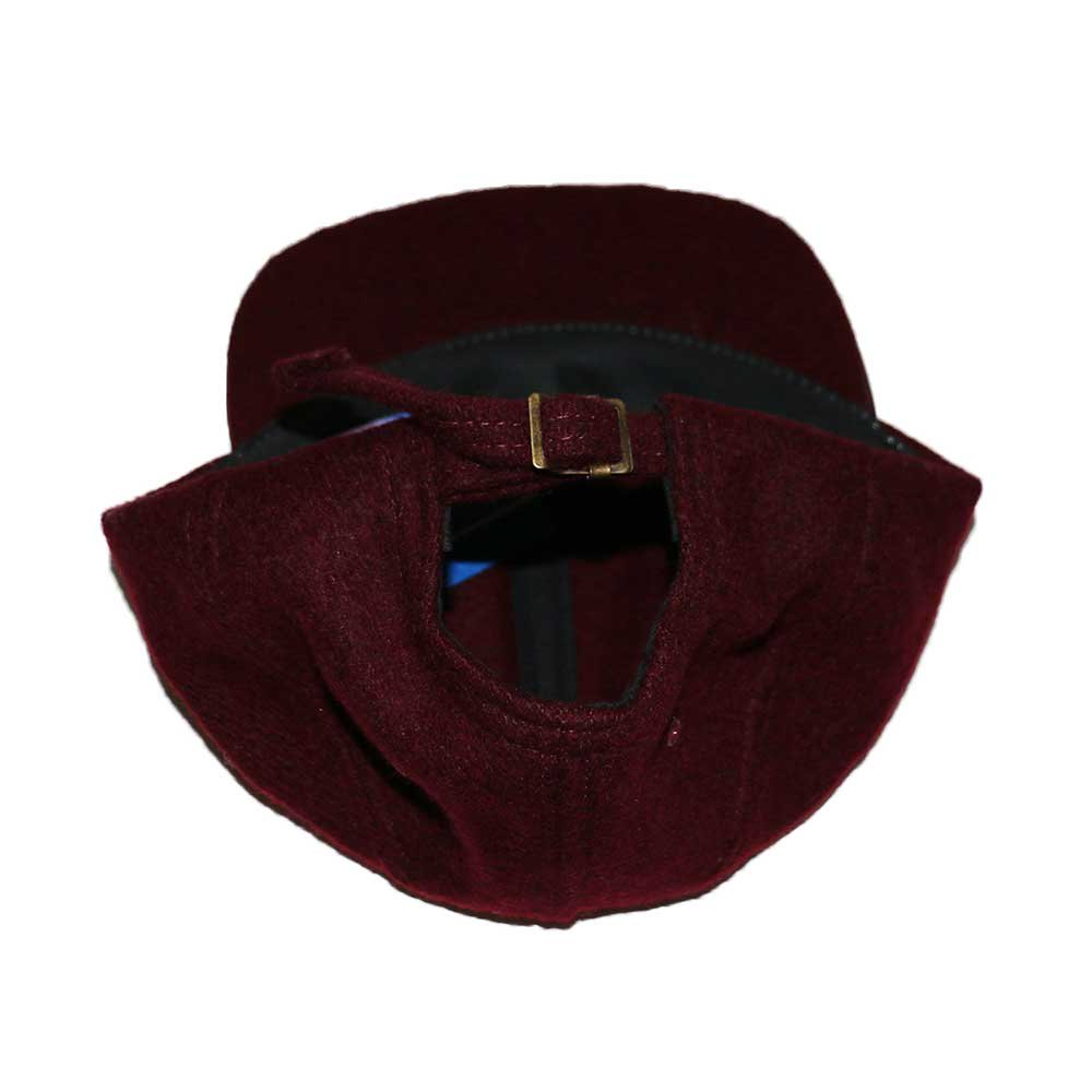 w-means(ダブルミーンズ) BRONER WOOL CAP (Made in U.S.A.)one size fits all  Burgundy 詳細画像6