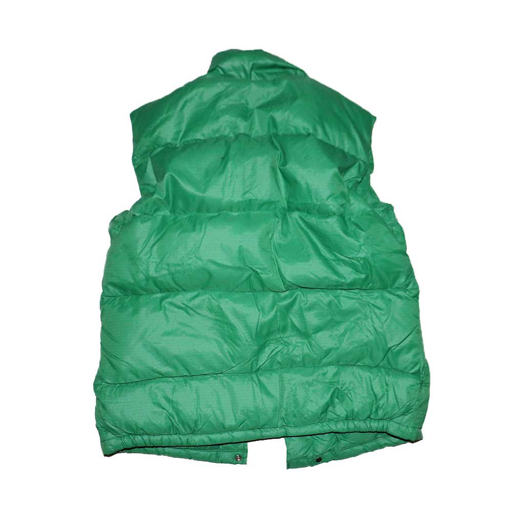 w-means(ダブルミーンズ) 80's THE NORTH FACE  ダウンベスト (Made in U.S.A.)表記L  Green 詳細画像1