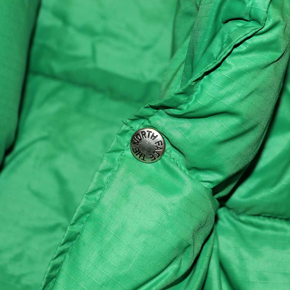 w-means(ダブルミーンズ) 80's THE NORTH FACE  ダウンベスト (Made in U.S.A.)表記L  Green 詳細画像3