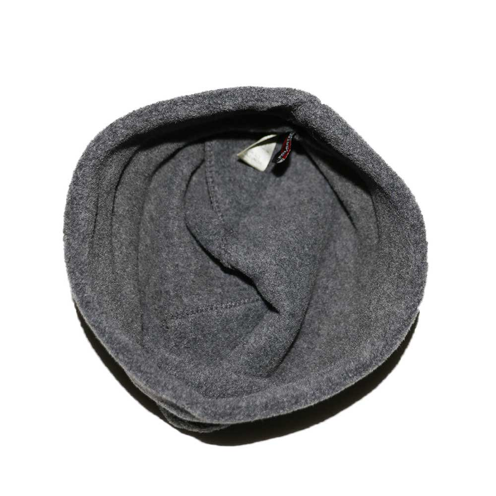 w-means(ダブルミーンズ) eddie bauer   フリースキャップ  one size  charcoal gray 詳細画像2