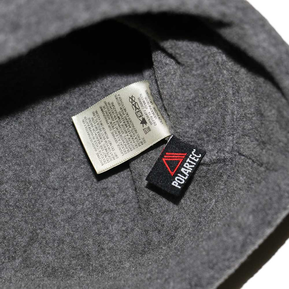 w-means(ダブルミーンズ) eddie bauer   フリースキャップ  one size  charcoal gray 詳細画像5