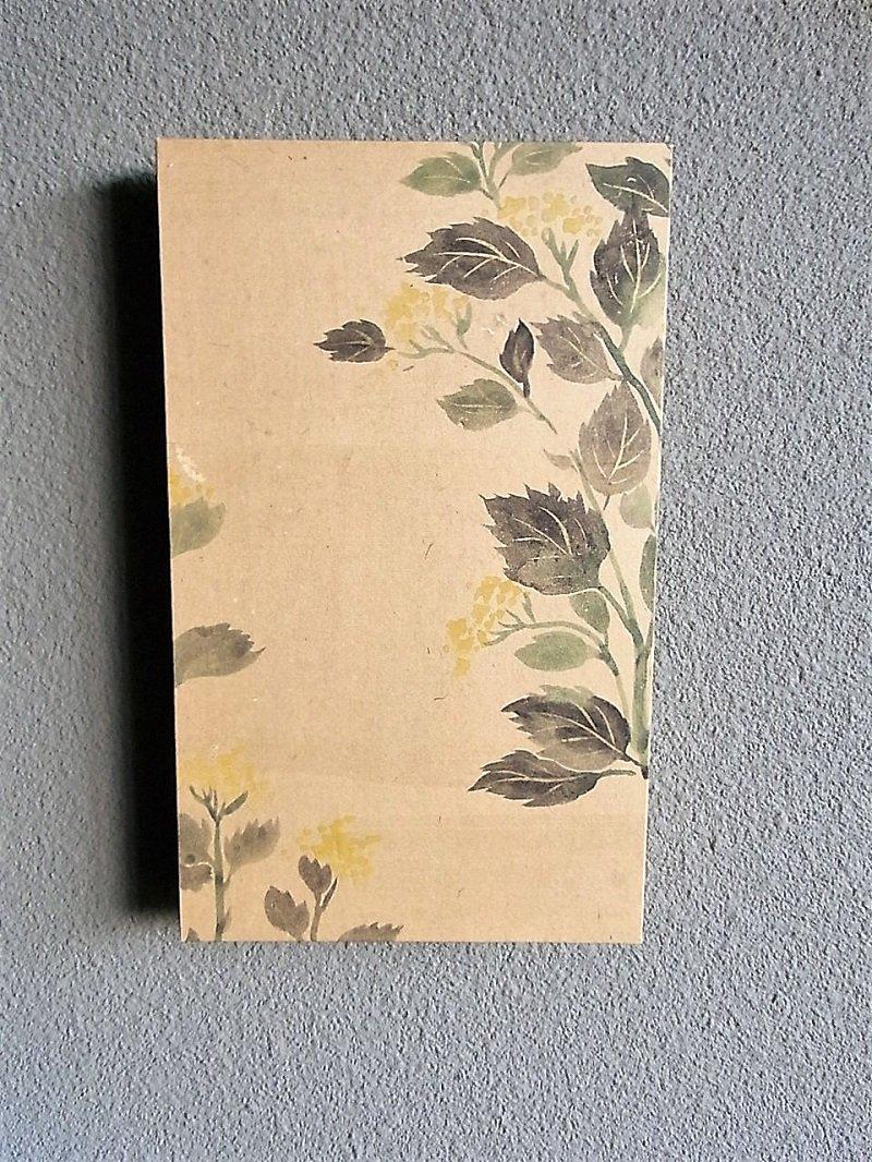 Masaオリジナル時代屏風パネル ® 18 117 7  琳派野花図