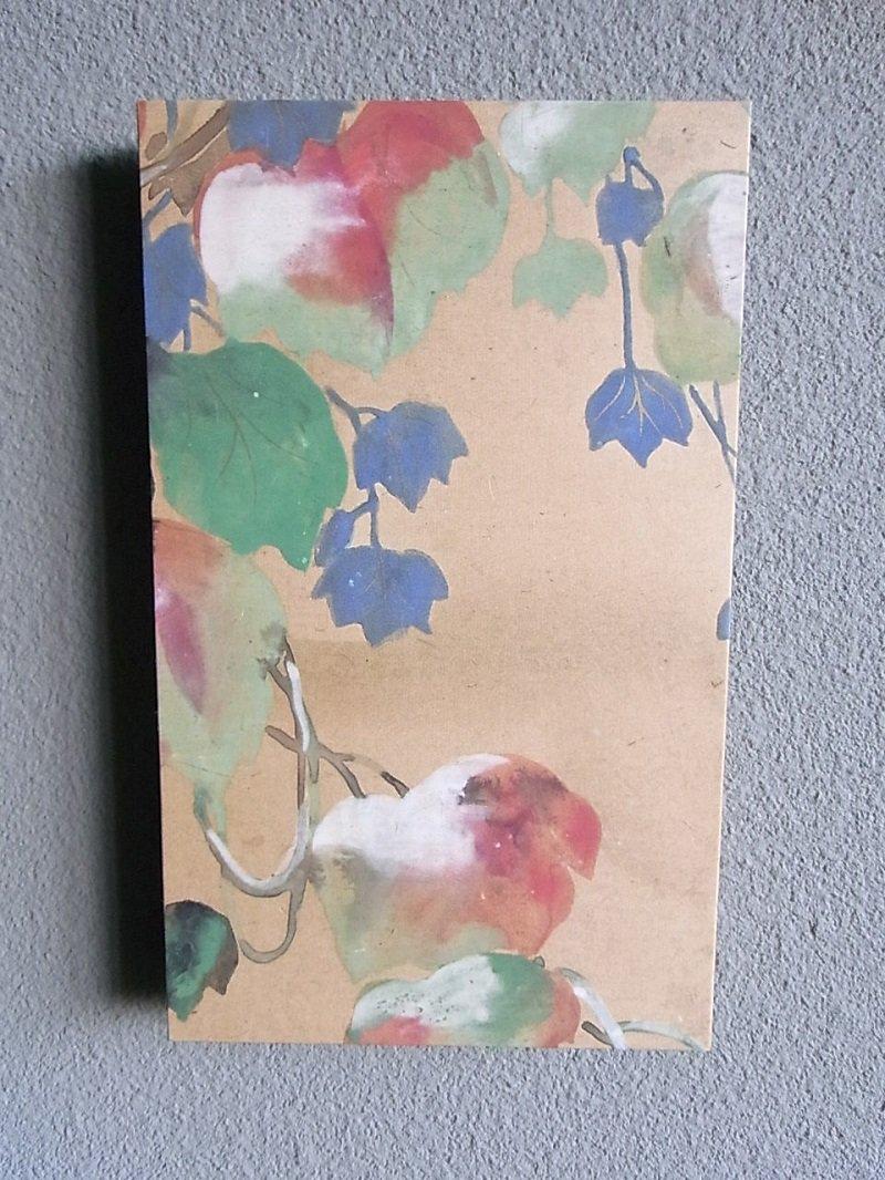 Masaオリジナル時代屏風パネル ® 18 117 9 琳派野花図