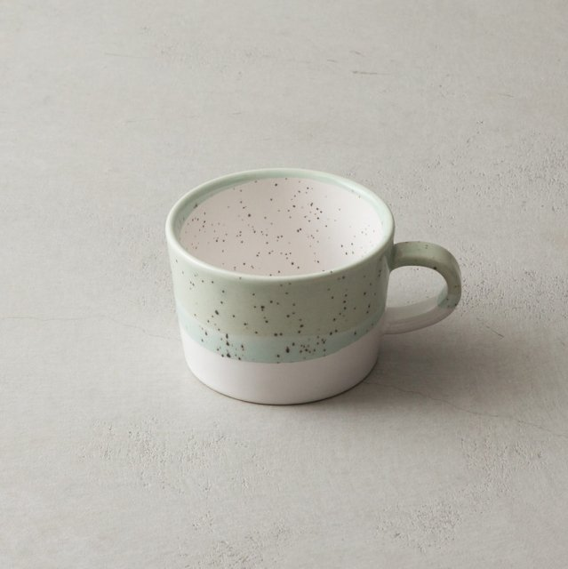 GF&CO. 白土スープカップ GREEN