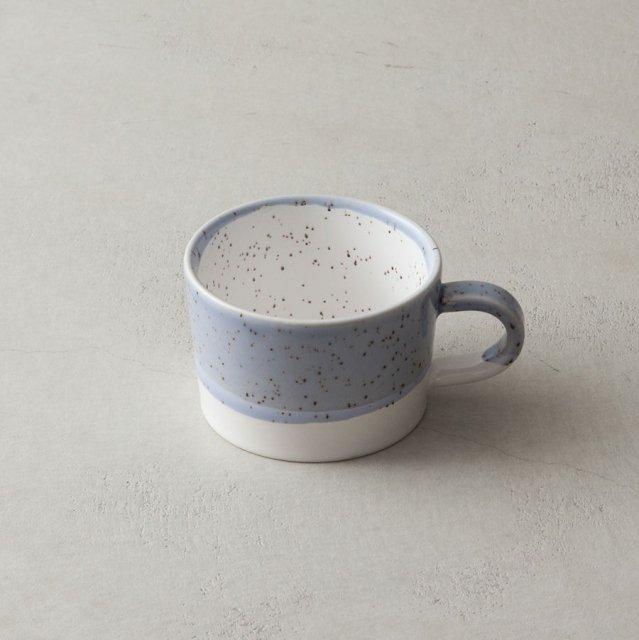 GF&CO. 白土スープカップ BLUE