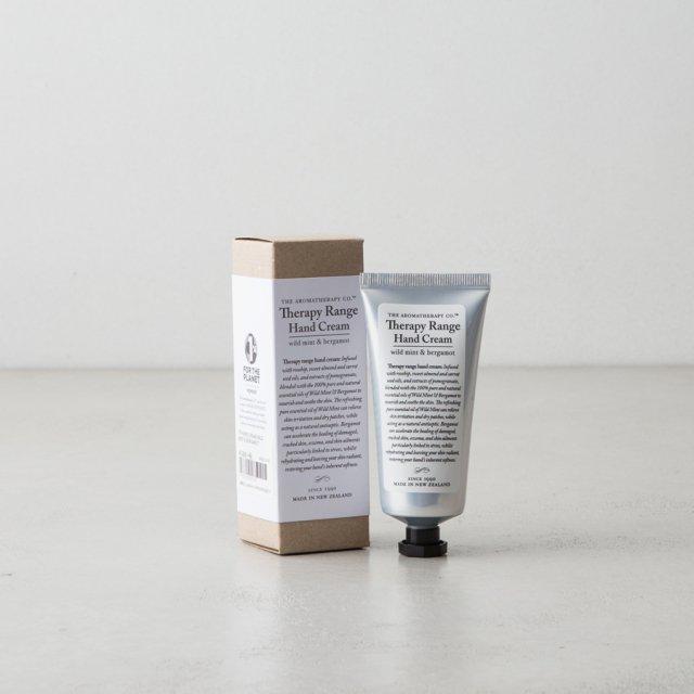 Therapy Range ハンドクリーム ワイルドミント&ベルガモット