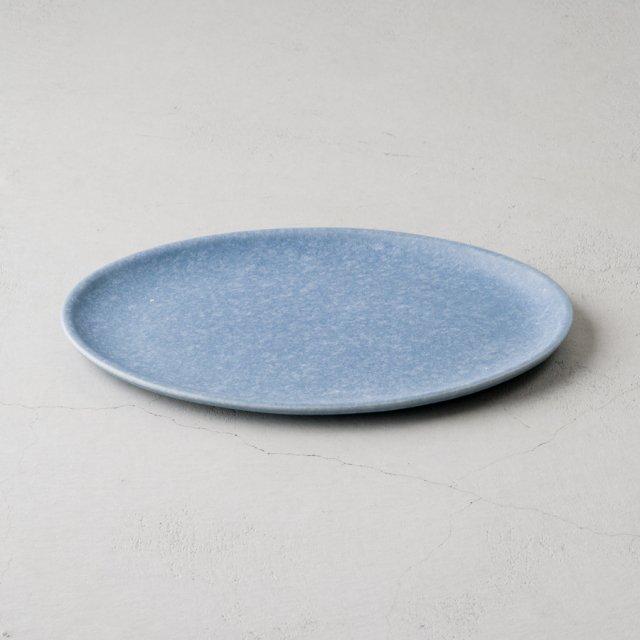 UHLALA CERAMICS × GF&CO. オーバルプレート L BLUE