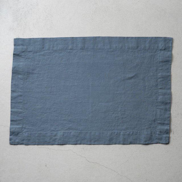 Linen Me プレースマット BLUE
