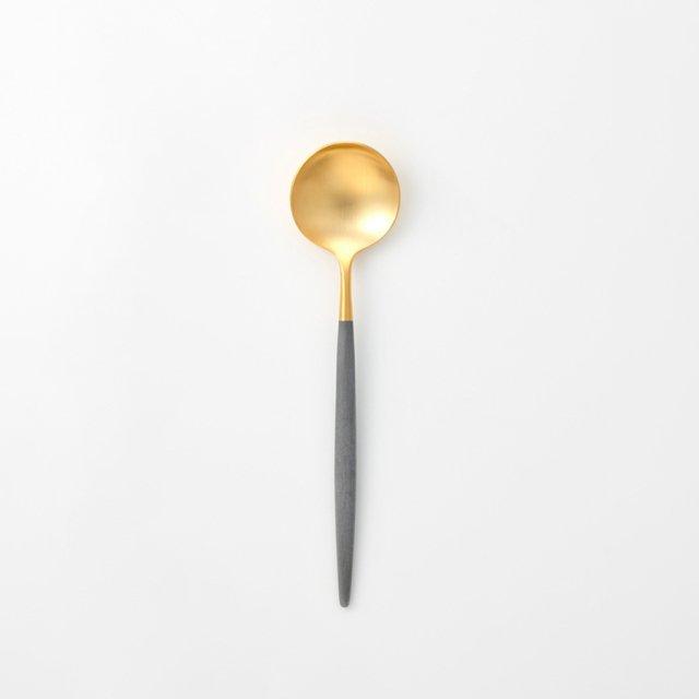 Cutipol GOA グレー テーブルスプーン GOLD