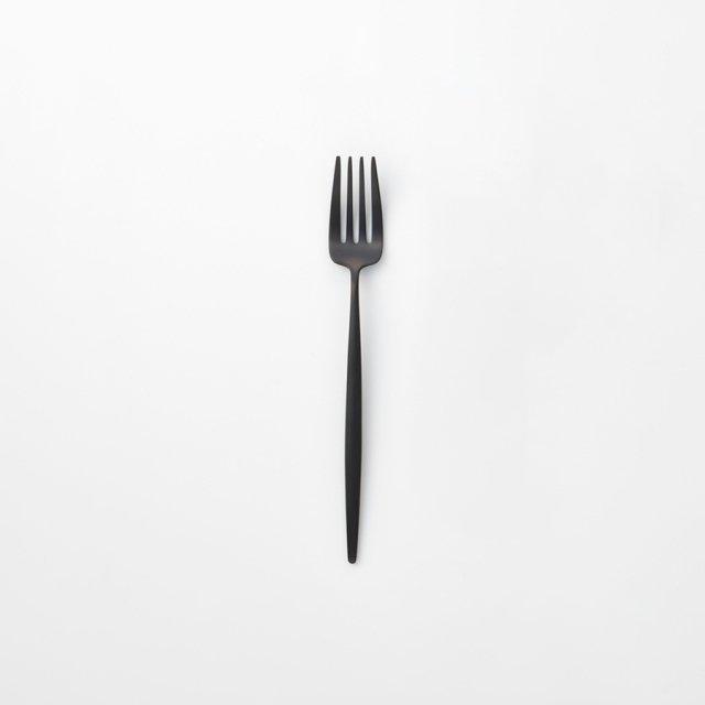 Cutipol MOON デザートフォーク MATTE BLACK