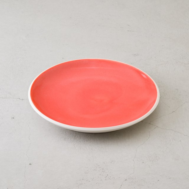 MIRO MADE THIS × GF&CO. ポーセリンプレート M ORANGE-RED