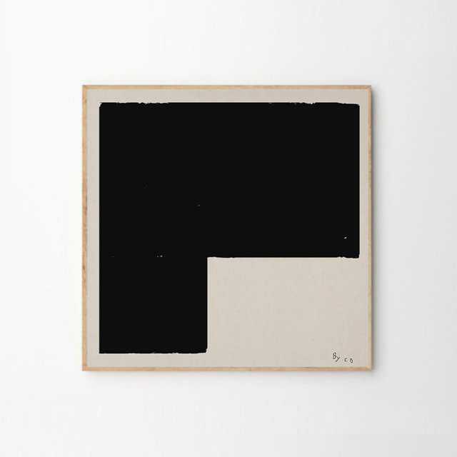 BLACK OBJECT 01 by Carsten Beck (50×50cm)