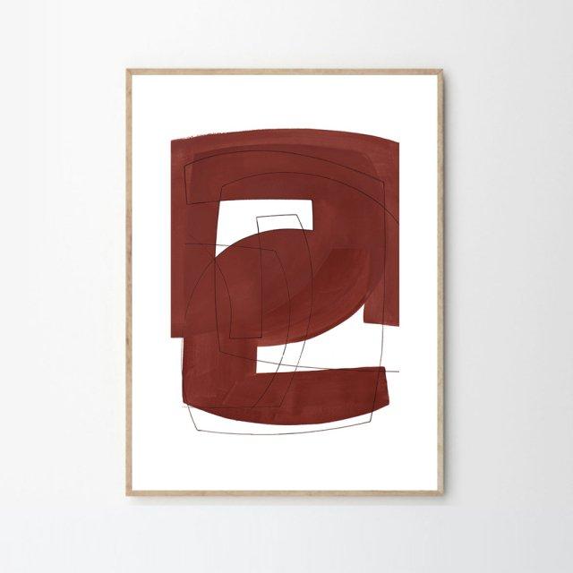 MERGED by Berit Mogensen Lopez (50×70cm)