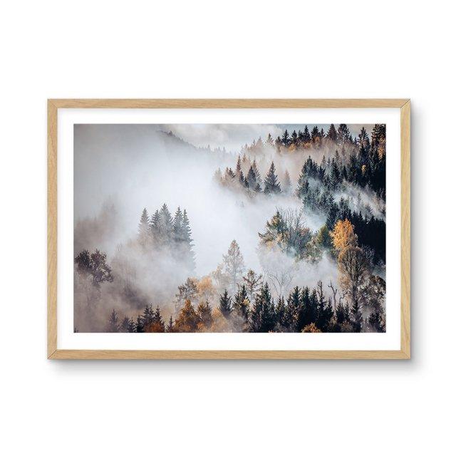 Autumn Forest Mist (50×70cm)