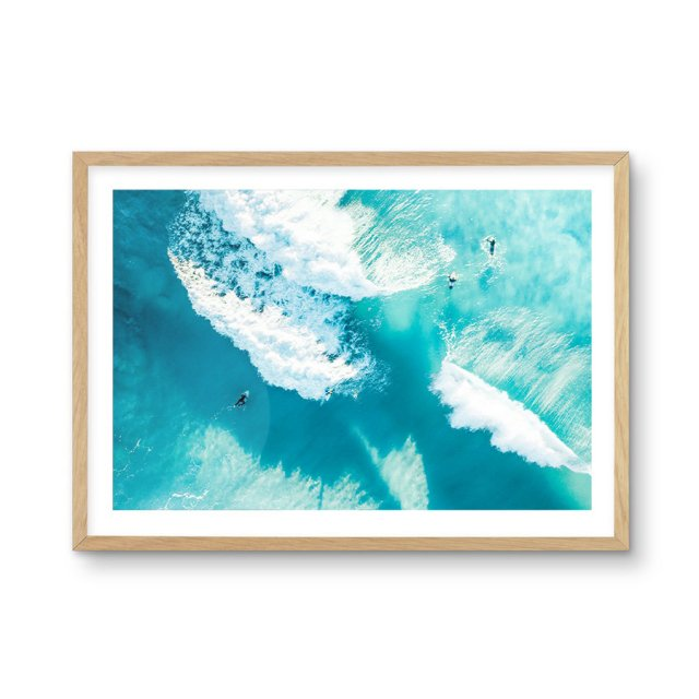 Bondi Waves II (50×70cm)