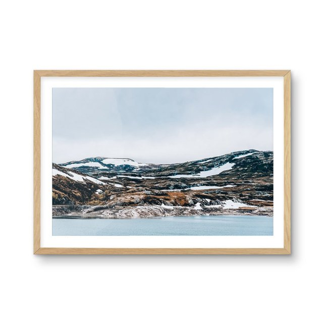 Snow By The Sea (50×70cm)