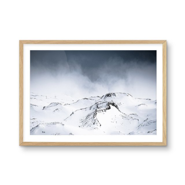 Snow Views (50×70cm)
