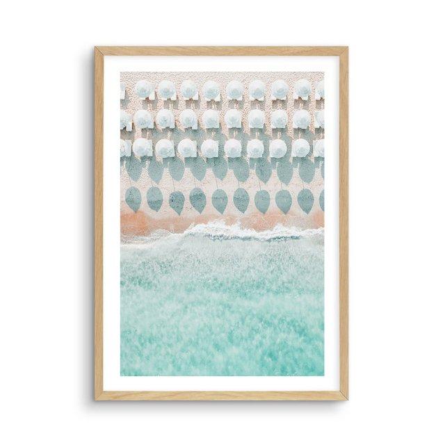 White Umbrellas (50×70cm)