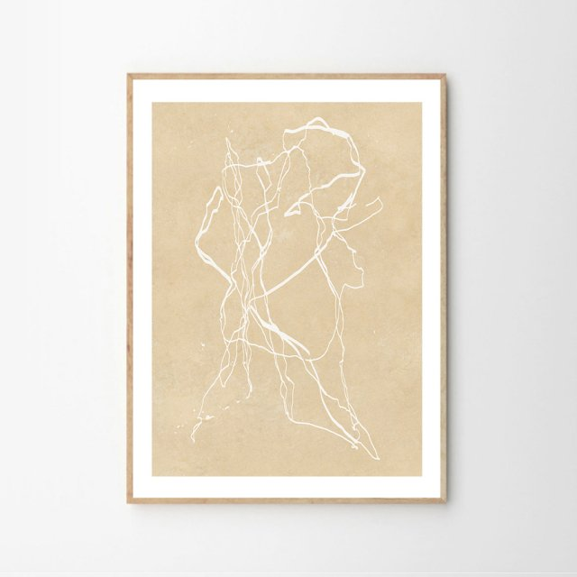 ONE LINE NO.3 by Hein Studio (50×70cm)