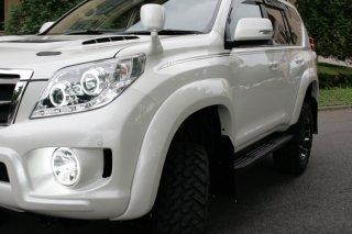 150プラド KADDIS オーバーフェンダーヨンゴー