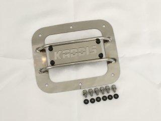 デリカD:5 KADDISフュエルリッドプロテクター ステンレス