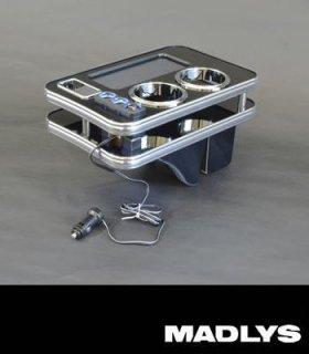デリカD:5 MADLYS D:5 センターテーブルver3 フロント用 ピアノブラック