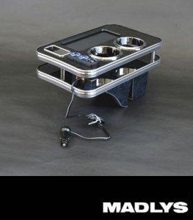 デリカD:5 MADLYS D:5 センターテーブルver3 フロント用 ブラックウッド